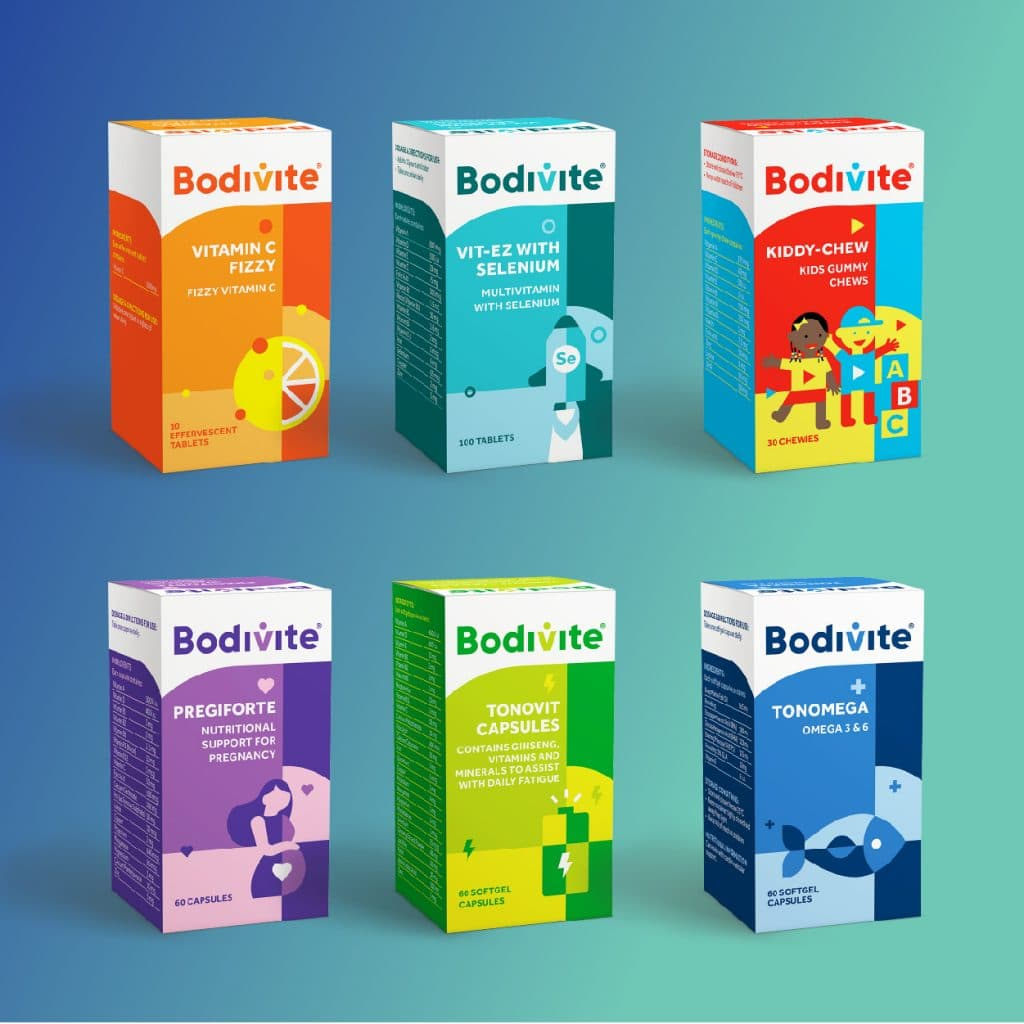 Bodivite product range